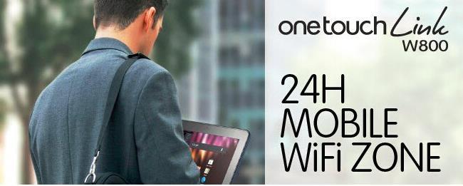 Alcatel W800Z 4G Wireless Dongle For Car or Bus